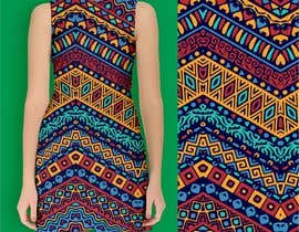 #4 для Simple Colourful Design for Dress от deeptouch