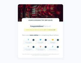 #28 cho Html responsive template for giveaways bởi webubbinc
