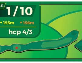 #6 cho golf hole info board design bởi reddmac