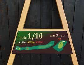#2 cho golf hole info board design bởi mughal8723