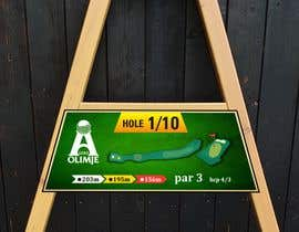 #23 cho golf hole info board design bởi mughal8723
