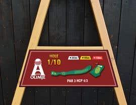 #25 cho golf hole info board design bởi mughal8723