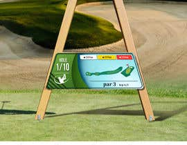 #14 cho golf hole info board design bởi kjdhaneesh
