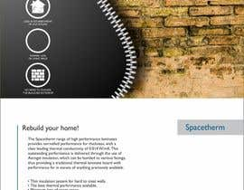 #45 for Advertisement Design for Spacetherm (Construction) af F5DesignStudio