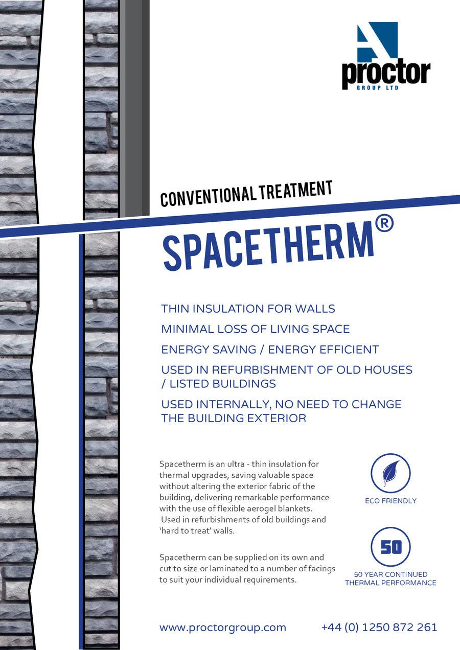 Advertisement Design Contest Entry #93 for Advertisement Design for Spacetherm (Construction)