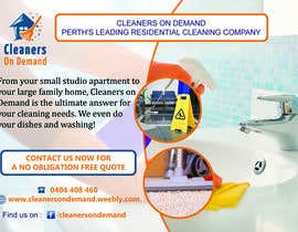 #6 pentru Design a Flyer for Cleaners on Demand de către clusterG