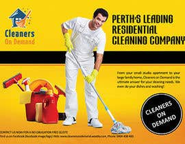 #7 for Design a Flyer for Cleaners on Demand by sakhn