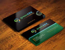 #47 for Create business cards for GreenArk.com.au by IllusionG