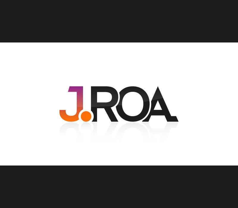 """Intrarea #41 pentru concursul """"Diseñar un logotipo for J.Roa"""""""