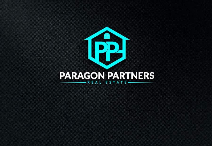 Penyertaan Peraduan #                                        28                                      untuk                                         Make a Logo by combining to Designs. Real estate agent logo
