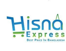 Nro 111 kilpailuun Redesign My Online Shop Logo - Hisna Express käyttäjältä hereabd