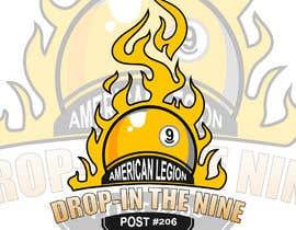 Nro 56 kilpailuun Create a 9 ball billiard team logo. käyttäjältä arifhowlader524