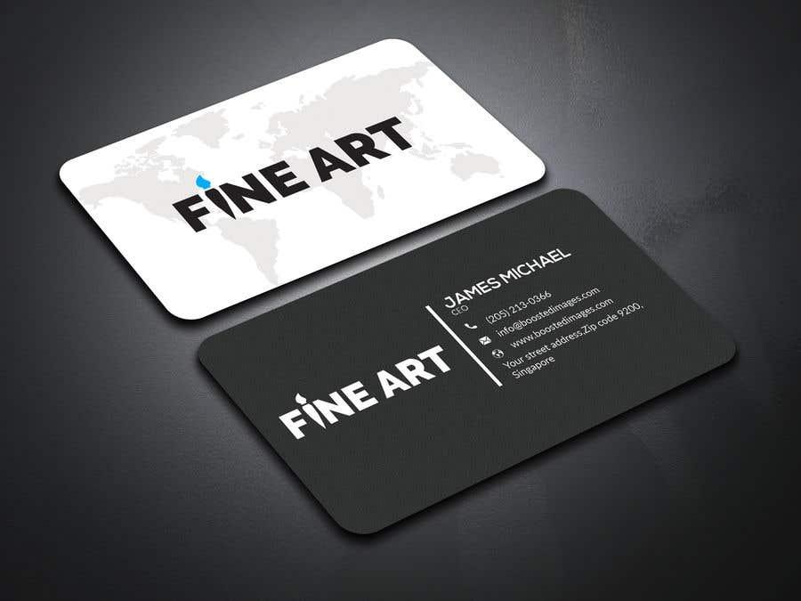 Kilpailutyö #                                        25                                      kilpailussa                                         Logo and business card design