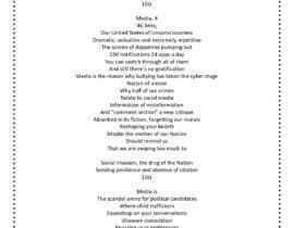 Nro 8 kilpailuun rewrite song lyrics to make it modern political or social käyttäjältä maverickyashmit