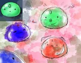 Nro 46 kilpailuun Concept art for Slime Character käyttäjältä daniel13ur