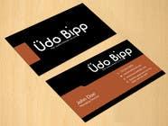 Graphic Design Penyertaan Peraduan #16 untuk Design some Business Cards for Udo Bipp