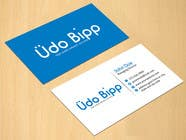 Graphic Design Contest Entry #65 for Design some Business Cards for Udo Bipp