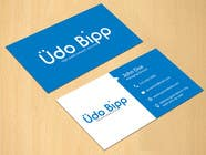 Graphic Design Contest Entry #67 for Design some Business Cards for Udo Bipp