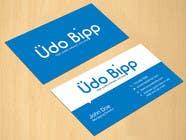 Graphic Design Penyertaan Peraduan #79 untuk Design some Business Cards for Udo Bipp