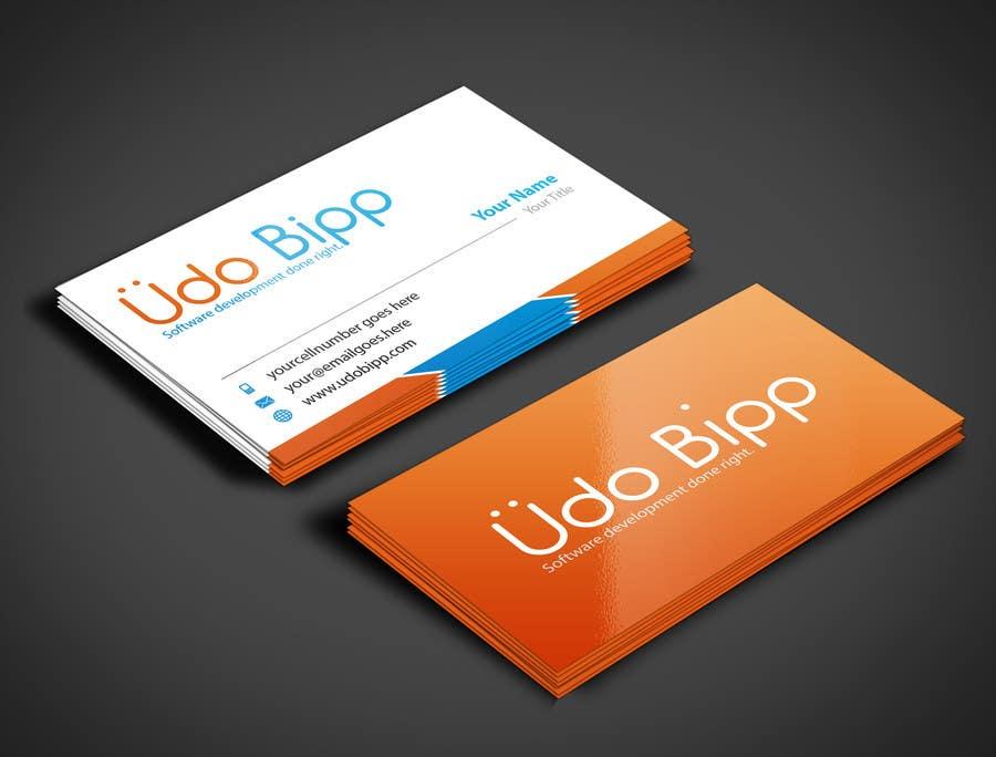 Penyertaan Peraduan #45 untuk Design some Business Cards for Udo Bipp