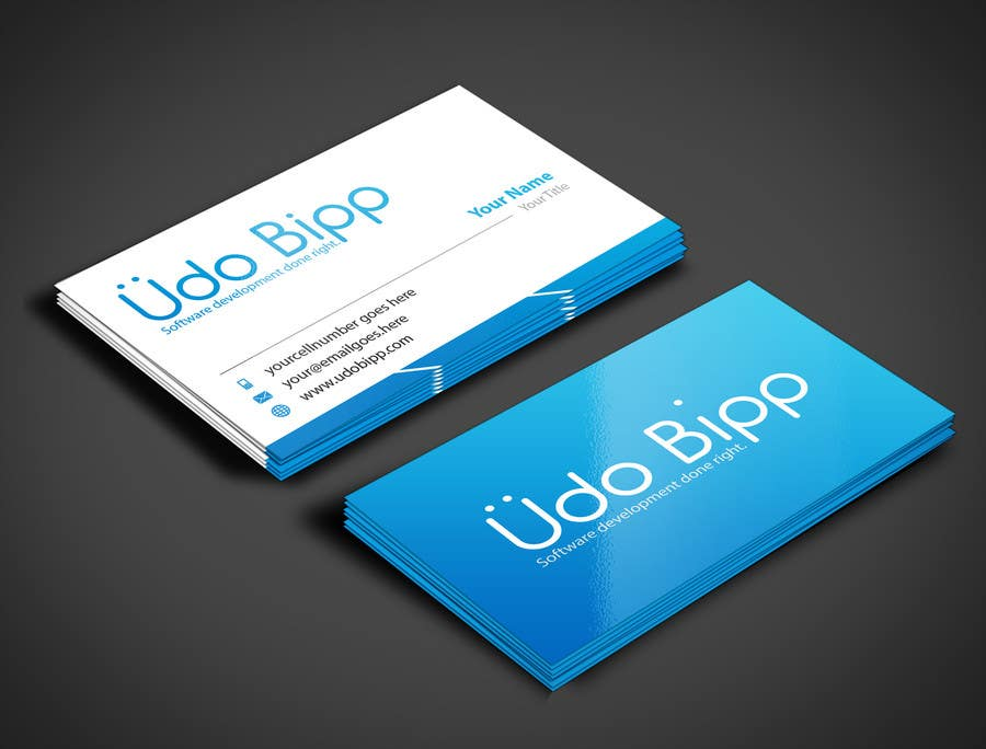 Penyertaan Peraduan #46 untuk Design some Business Cards for Udo Bipp