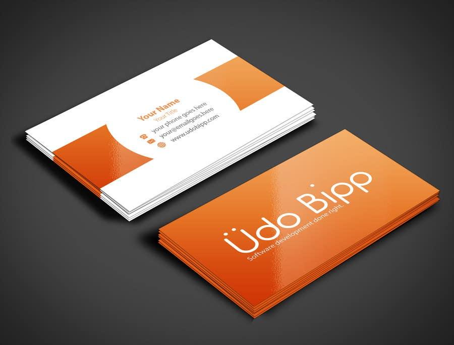 Penyertaan Peraduan #51 untuk Design some Business Cards for Udo Bipp