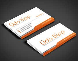 #52 for Design some Business Cards for Udo Bipp by angelacini