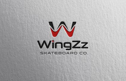 #66 for Design a Logo for WingZz Skateboard Co. by ChKamran