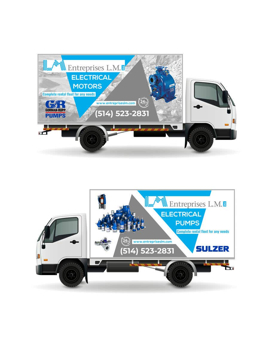 Contest Entry #                                        91                                      for                                         New service truck design