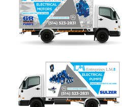 #91 for New service truck design by raselcolors