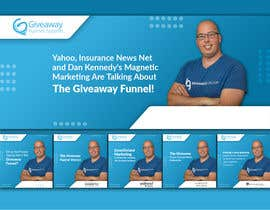 #150 for Giveaway Funnel Facebook Ad Set: Banner and Carousel Ads af vectommi