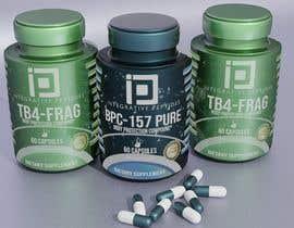 Nro 310 kilpailuun Supplement label design käyttäjältä Pespis