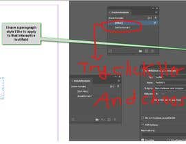 #2 for InDesign: assign paragraph style to interactive text field by aminendesigner