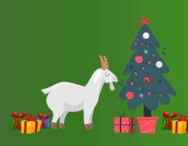 #8 cho Cartoon goat eating christmas lights bởi mohabmostafa