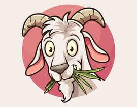 #4 cho Cartoon goat eating christmas lights bởi moosadesai2030
