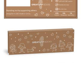 Nro 34 kilpailuun PACKAGING DESIGN for children's socks käyttäjältä saurov2012urov