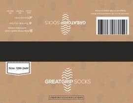 Nro 38 kilpailuun PACKAGING DESIGN for children's socks käyttäjältä DesignerMaster12
