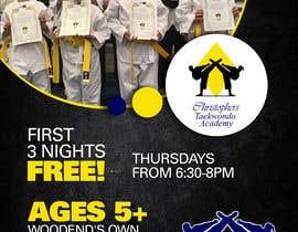 #323 untuk Flyer Martial Arts Contest oleh meenumdu2604