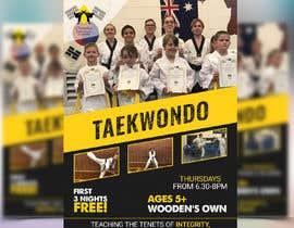#333 untuk Flyer Martial Arts Contest oleh ihr1478