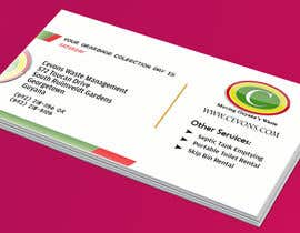 #43 pentru Design some Business Cards for Garbage Collection company de către ayishascorpio