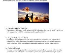 Mahanya tarafından Write blog article - Wedding Photography için no 6