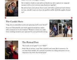 AmandaL53 tarafından Write blog article - Wedding Photography için no 8