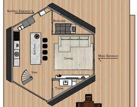 #30 for Vacation Cabin Layout (Floor and Structure) by matheusmercoli
