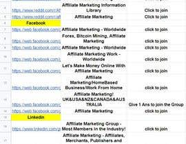 #33 untuk Help me find Affiliate Marketers in the United States oleh addafsar