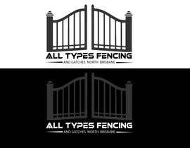 #460 for Fencing Company Full logo design by mdshuvoahmed75