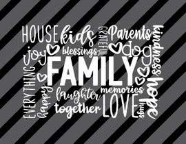 #113 for Create a family themed word cloud af jisan79