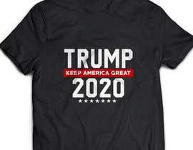 sharmintusi tarafından Trump 2020 Campaign T-shirt design için no 55