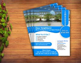 #134 for Need a Open House flyer created by mostafa543