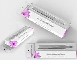 Nro 5 kilpailuun Create Print and Packaging Designs for Occhio Beauty - Tweezers Box käyttäjältä rajcreative83
