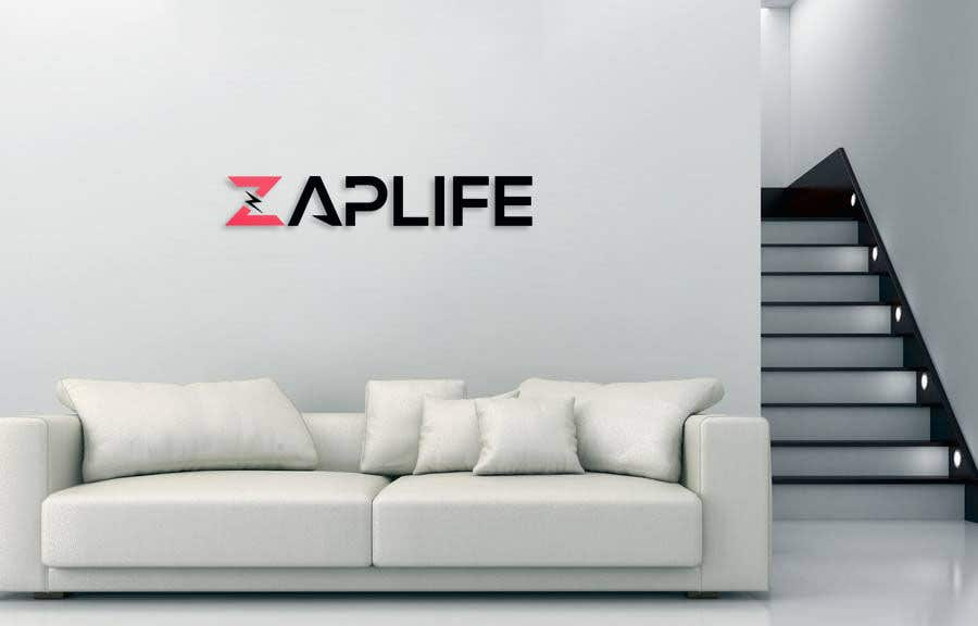 Contest Entry #                                        20                                      for                                         Zap_life logo